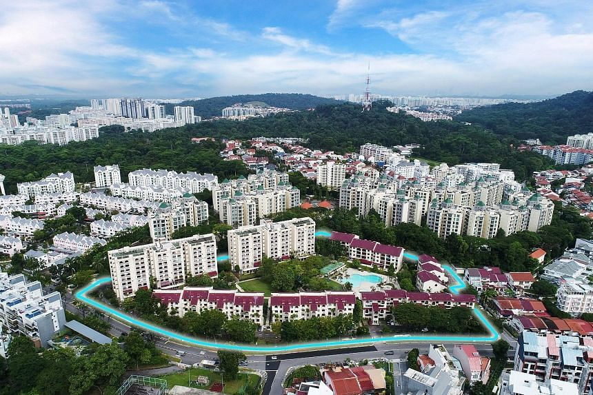In the fourth collective sale launch this week, Goodluck Garden launched a tender with a reserve price of $550 million, which will close on March 7. The condominium development located in Toh Tuck Road comprises eight blocks of 208 residential units