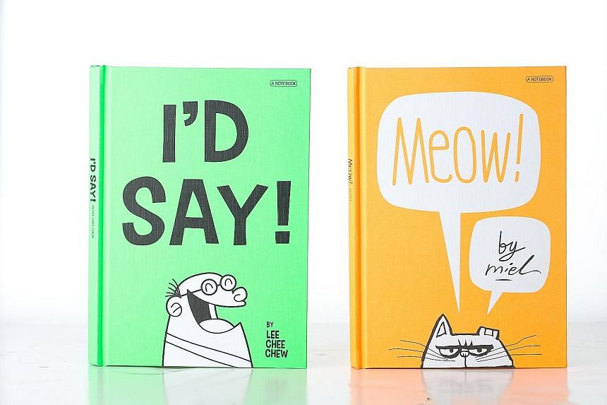 I'd Say! and Meow!