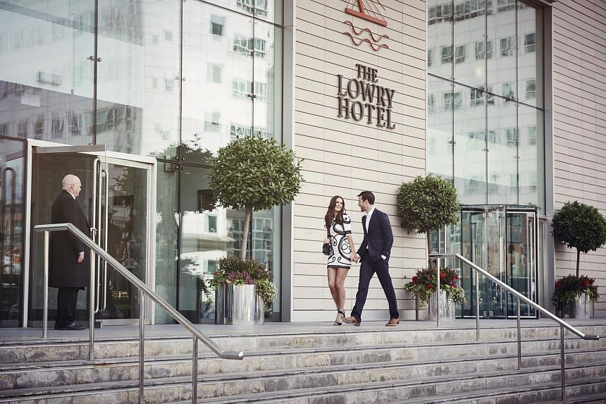 The Lowry Hotel in Manchester boosted CDL Hospitality Trusts' portfolio performance.