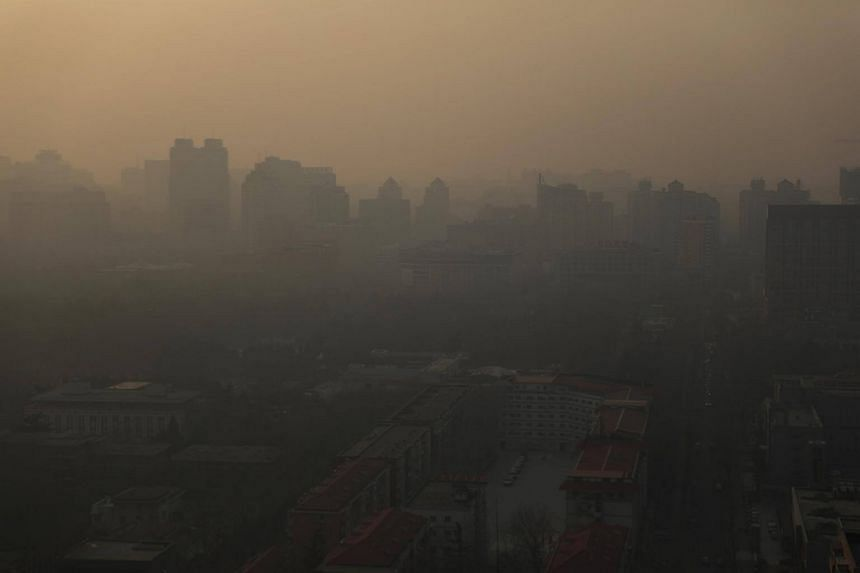 China produces more than a quarter of humanity's emissions of global warming gases.