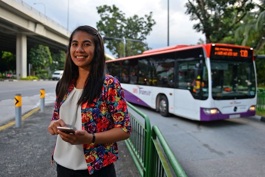 Ms Lucille Annabelle Latiff developed an interest in land transport when she studied about the various transport challenges that cities around the world face.