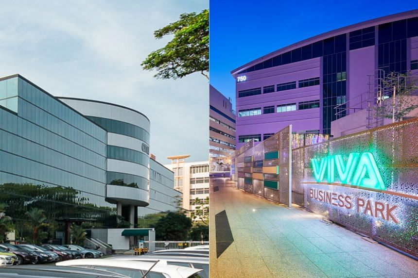 ESR-Reit and Viva Industrial own real estate valued at a combined S$3 billion at the end of December 2017, according to exchange filings.