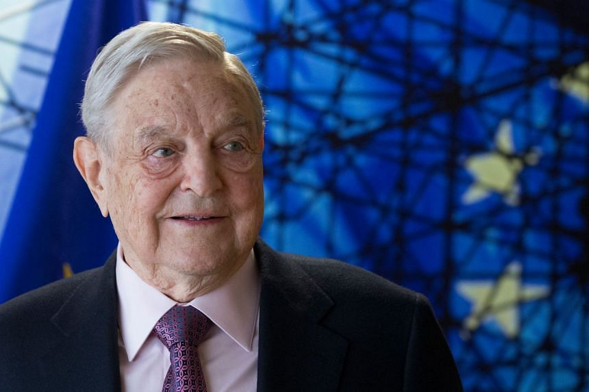 """Soros (above) expects a Democratic """"landslide"""" in the 2018 elections."""
