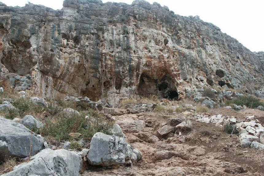 The Misliya Cave in Israel - the site of a fossil find that could rewrite the early history of Homo sapiens.