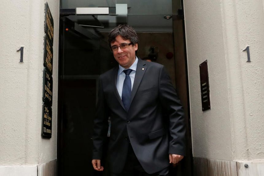 Carles Puigdemont faces charges including rebellion and sedition if he returns to Spain but he is the separatists' candidate to lead Catalonia