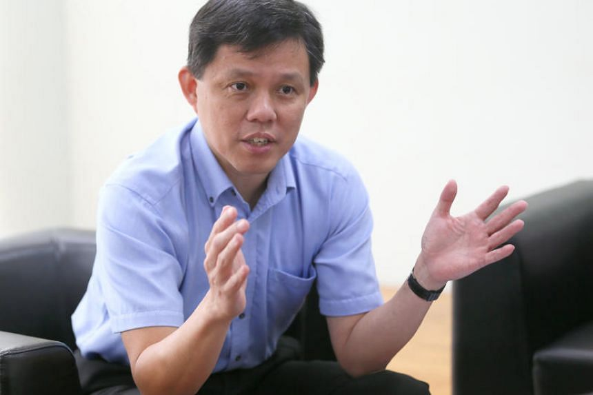 """Minister in the Prime Minister's Office Chan Chun Sing said that Singapore has very high aspirations of what """"we will like to achieve with China""""."""
