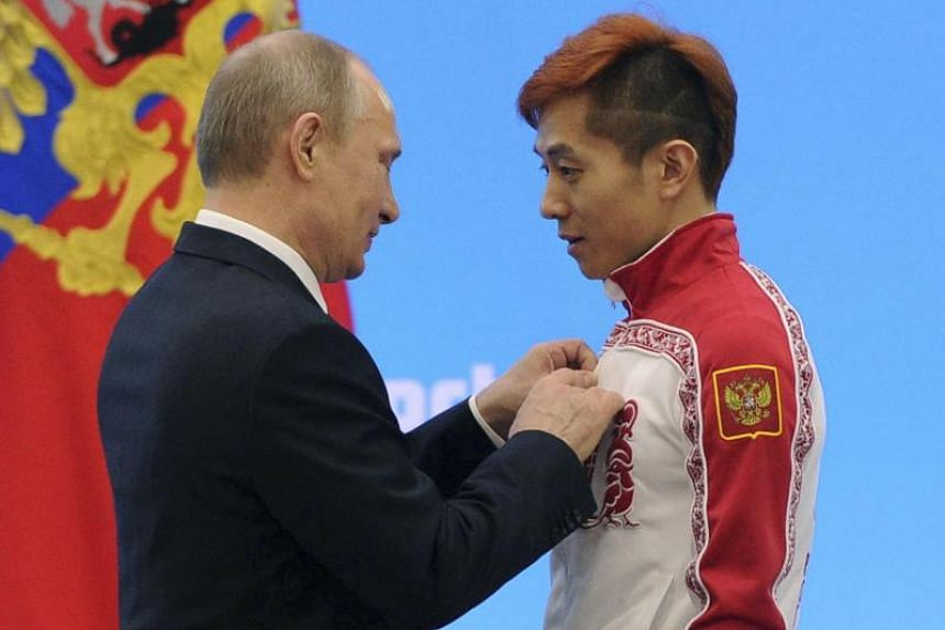 Viktor An had hoped to compete in his birth country at the Pyeongchang Winter Olympics under a neutral Olympic flag after the Russian team was banned over a state-sponsored doping scandal.