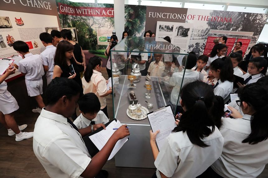 Designed by students from Temasek Polytechnic, the Istana Heritage Gallery Challenge consists of a series of quizzes about the history and heritage of the Istana.