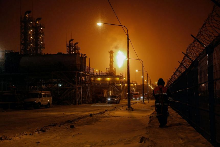 Russia's Yamal liquefied natural gas plant in the Arctic port of Sabetta, in which China has a major stake.