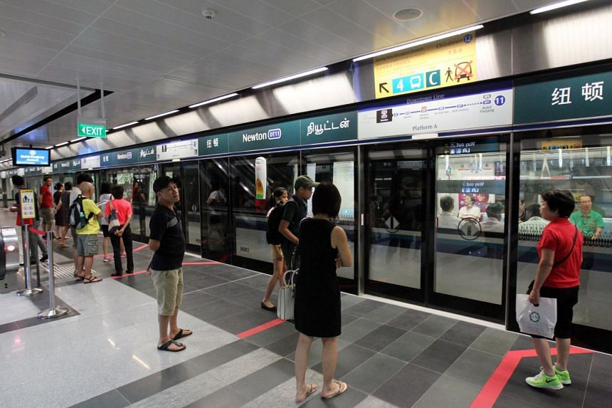 During the exercise, the fare gates at Exit C of the Downtown Line's Newton MRT Station will be closed.