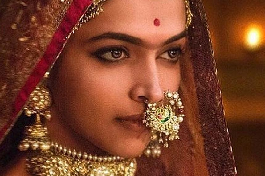 Deepika Padukone plays Hindu queen Padmavati in Padmaavat.