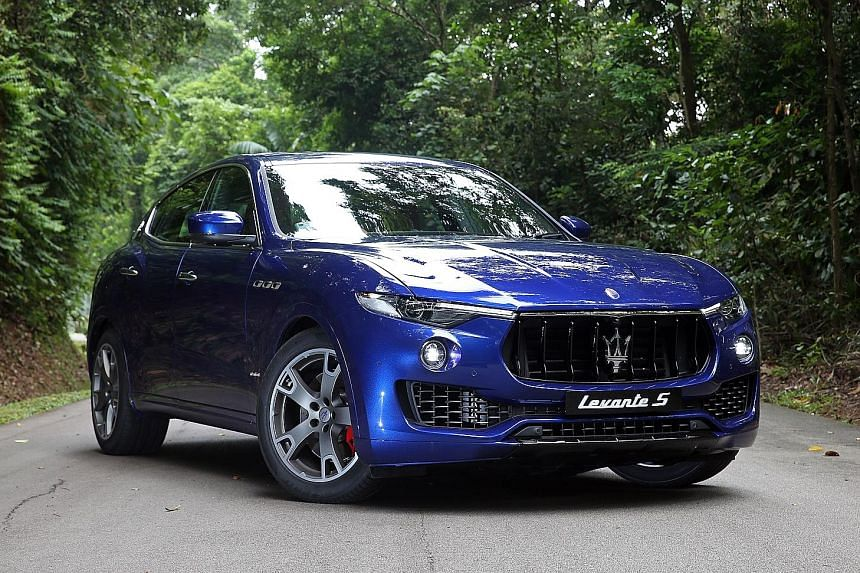 The Maserati Levante S is more than 5m long, nearly 2m wide and has a wheelbase a tad over 3m. It has a spacious interior.