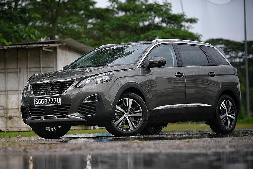 The Peugeot 5008 1.6 E-THP comes with high-quality trim and premium features, such as LED lighting and a colour touchscreen with Bluetooth connection and phone mirroring.