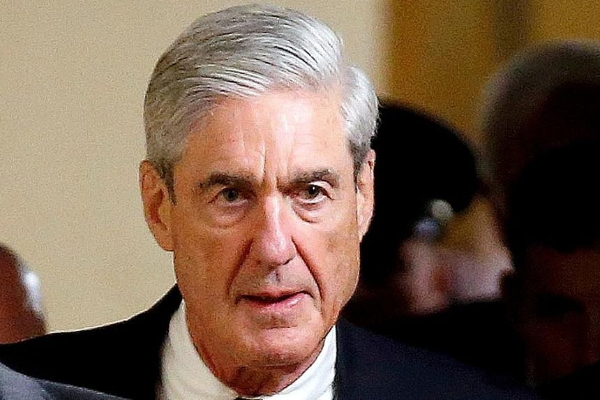Mr Robert Mueller, a former FBI director, is the special counsel overseeing the Russia investigation.