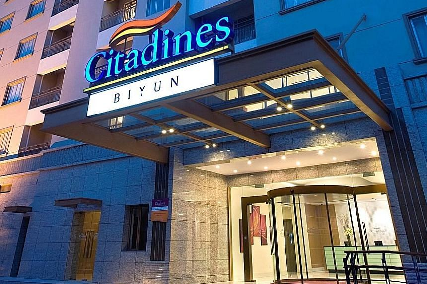 Unit holders' distribution jumped 30 per cent to $43.9 million, bolstered in part by a one-off partial distribution of the gains from the divestment of Citadines Biyun Shanghai.