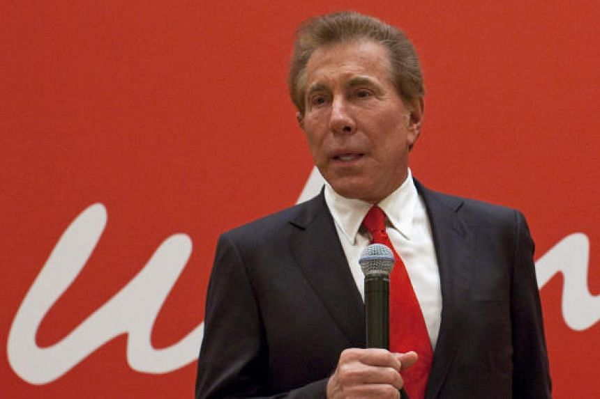 Steve Wynn, chairman and chief executive officer of Wynn Resorts Ltd., at a news conference following the company's annual general meeting in Macau, China, on June 5, 2012.