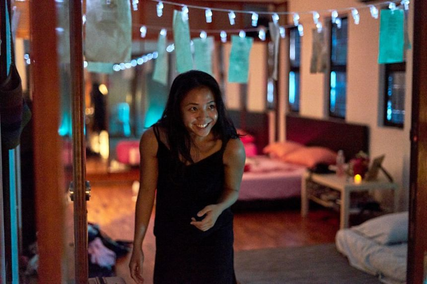 Sabrina Sng plays one of the many facets of the missing character Anna in Attempts: Singapore.