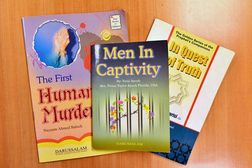 A prominent religious bookstore at Golden Landmark Mall is selling books for children that could be misunderstood by impressionable young readers and steer them towards violence and extremism, some Muslims say.