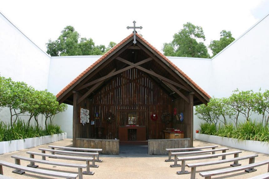 The Changi Chapel (pictured) and Museum will be closed in stages, beginning on April 2, for redevelopment.
