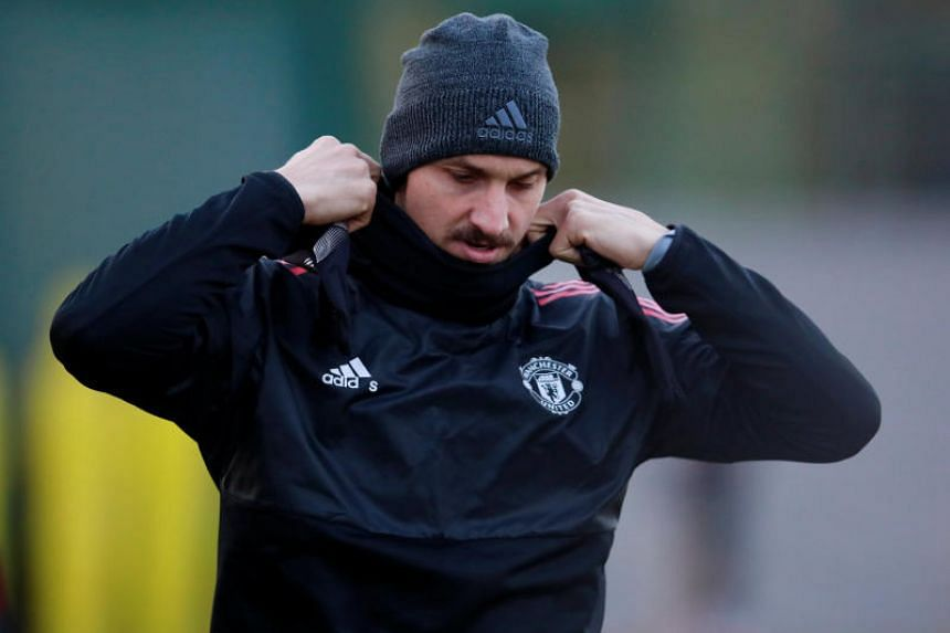 Zlatan Ibrahimovic has hardly played this season after suffering a knee ligament injury last year.