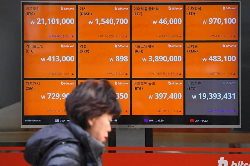 About 3 million people in South Korea are estimated to have invested in cryptocurrencies.