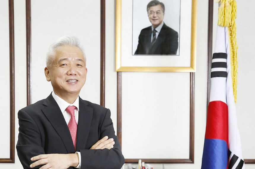 South Korea's ambassador to Singapore Lee Sang Deok had been due to serve until April 2019.