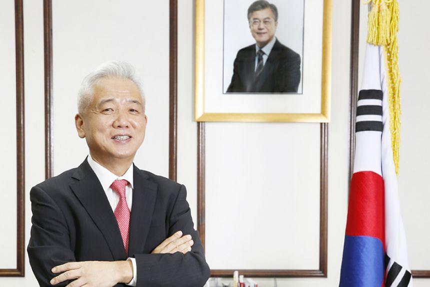 South Korea's ambassador to Singapore Lee Sang Deok had been due to serve until April 2019.