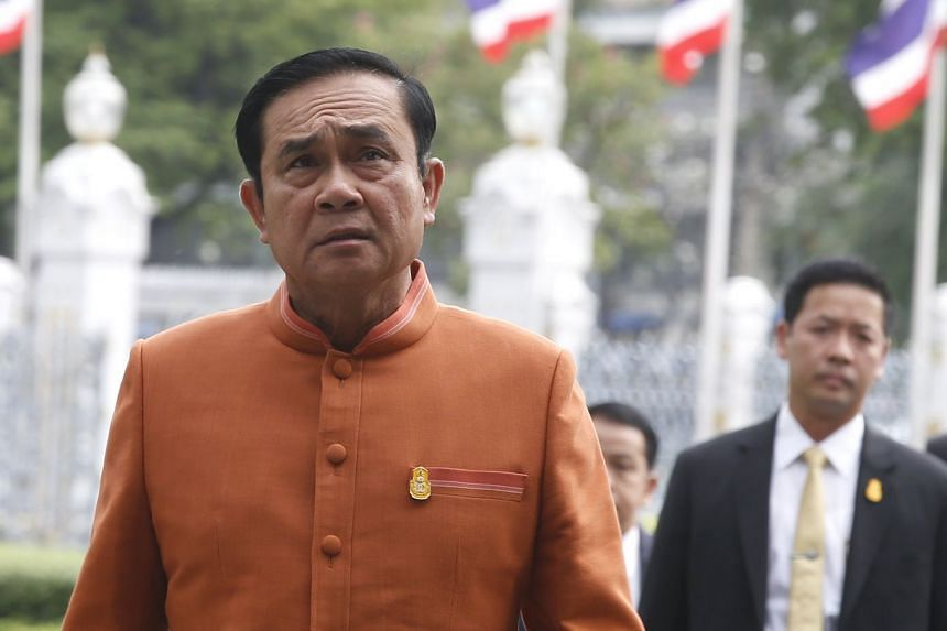 Thai PM Prayut Chan-o-cha said he needed more time to lay the foundation of the coutnry before holding the election.