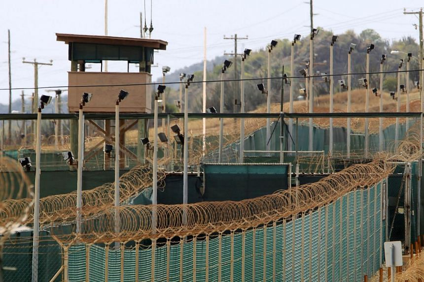 The exterior of Camp Delta at Guantanamo Bay in Cuba.