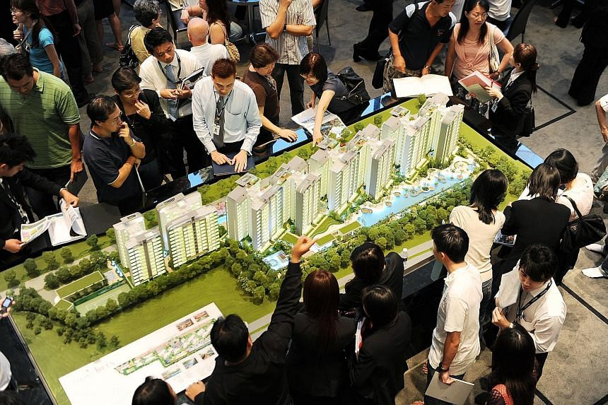 City Developments is no stranger to the West Coast area, having developed Monterey Park Condominium and Hundred Trees (above, at its launch). The third site on offer in the state tender that closed yesterday - in Chong Kuo Road in the Sembawang/Manda