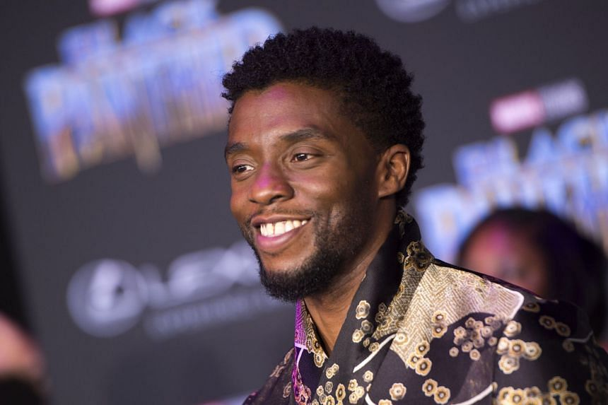 Actor Chadwick Boseman at the world premiere of Marvel Studios' Black Panther in Hollywood, California, US, on Jan 29, 2018.