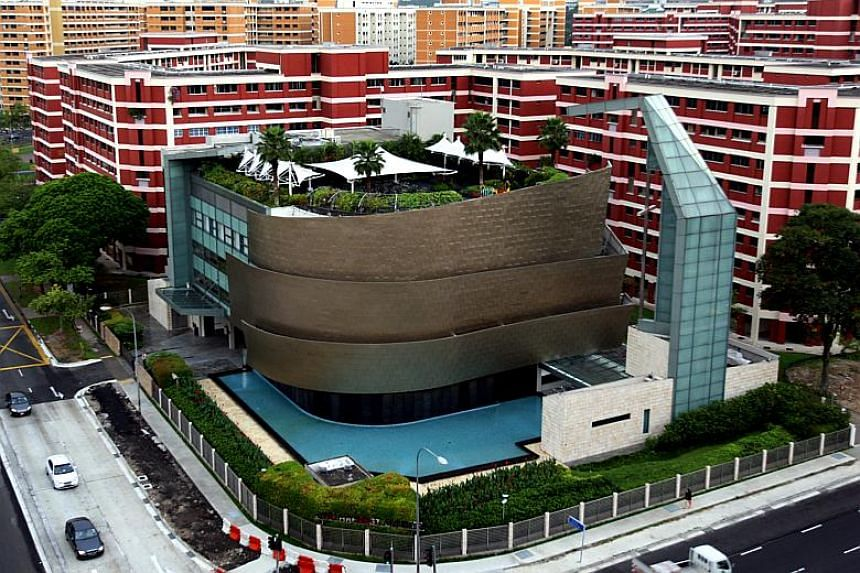 The City Harvest Church in Jurong West Street 91.