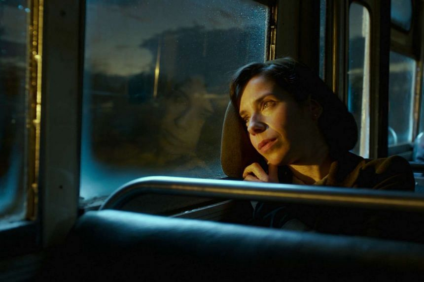 Sally Hawkins plays Elisa, the cleaner robbed of her voice, but overflowing with expression.