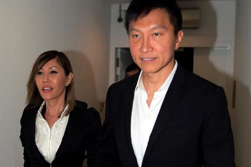 """City Harvest Church founder Kong Hee arriving at the High Court with his wife Ho Yeow Sun, on Sept 15, 2016. Ms Ho told The Straits Times over the phone on Feb 1 that she was """"just grateful to God for the result of the matter""""."""