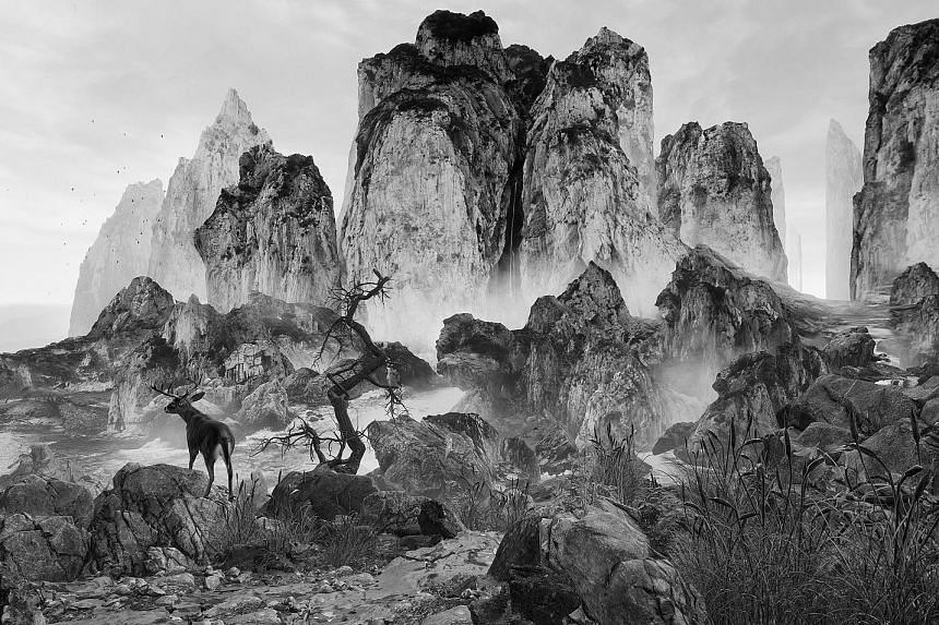 Eternal Landscapes by Chinese artist Yang Yongliang