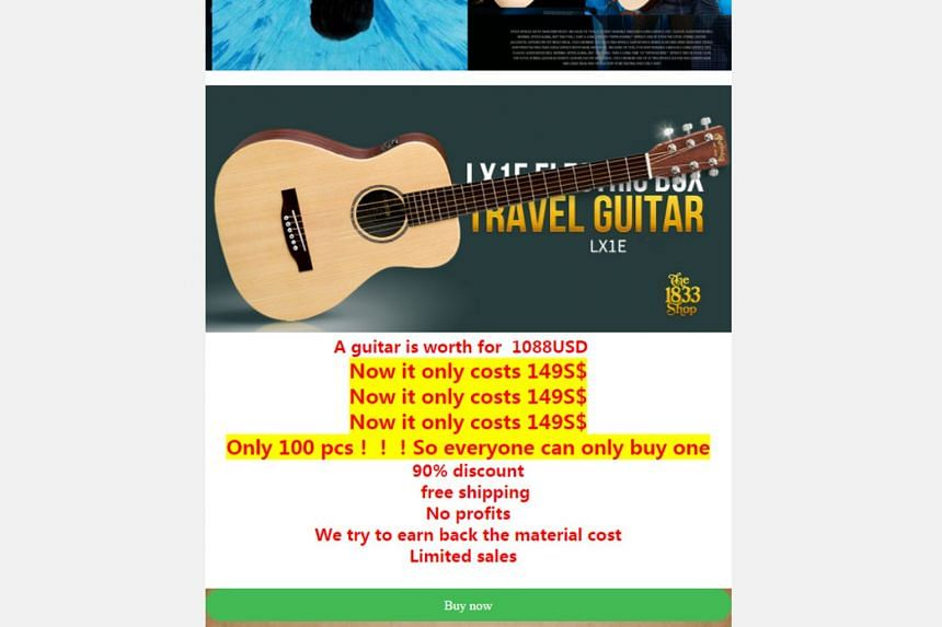 At least 9 people fall prey to guitar scam offering 90