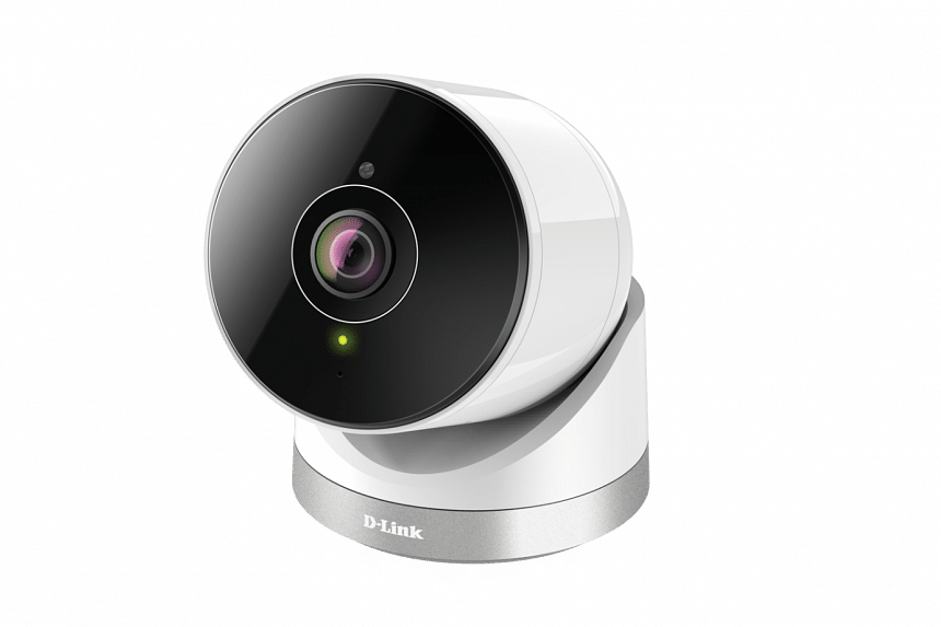 This IP65-rated outdoor IP camera is able to survive dust, rain and even snow. PHOTO: D-LINK