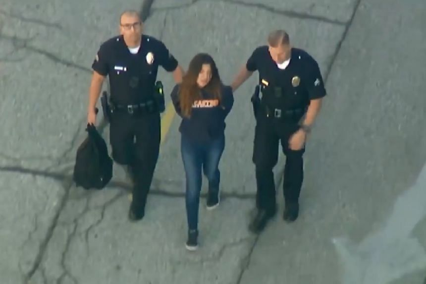 f1c78dfe2f3cf 12-year-old girl arrested after two injured in Los Angeles school ...