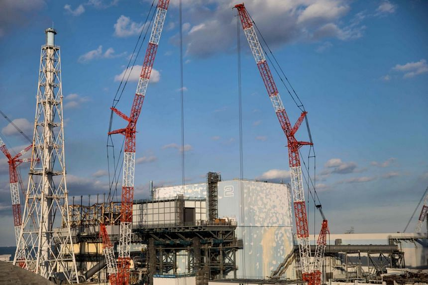 The reactor number 2 building at the Tokyo Electric Power Company Fukushima Daiichi Nuclear Power plant in Okuma, Fukushima, Japan, on Jan 31, 2018.