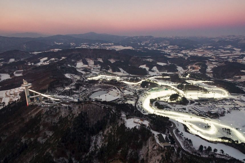 Pyeongchang is locally known for its meandering peaks and pristine ski slopes.