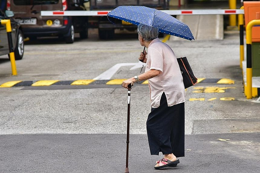 According to estimates from the Ministry of Health, half of Singaporeans who are healthy at the age of 65 are at risk of developing a long-term disability over their lifetimes.