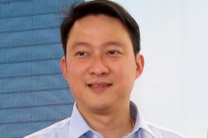 Sengkang West MP Lam Pin Min.