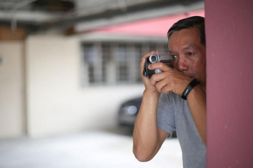 SG Investigators founder David Kang (above), who has been in the business for more than 15 years, admitted that his learning curve was steep, recalling that in his first few cases, his video clips of targets were shaky.