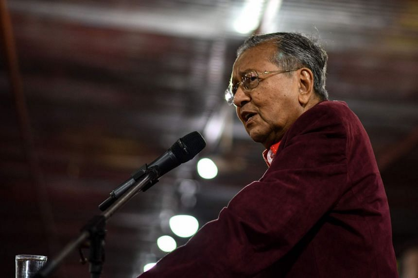 Former Malaysian prime minister and now opposition leader Mahathir Mohamad said he was still up for the fight against the ruling coalition Barisan Nasional in the general election.