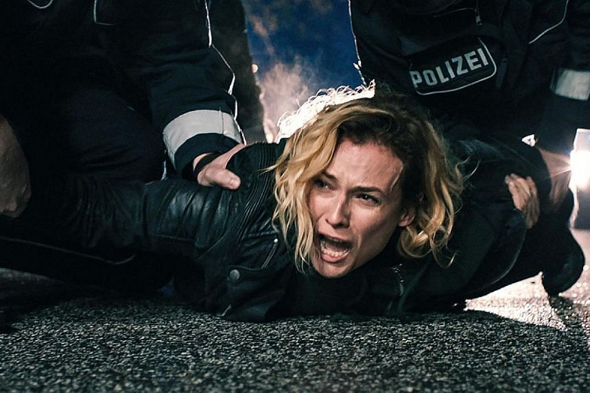 Diane Kruger won a best actress prize at the Cannes Film Festival for her role in In The Fade (above).