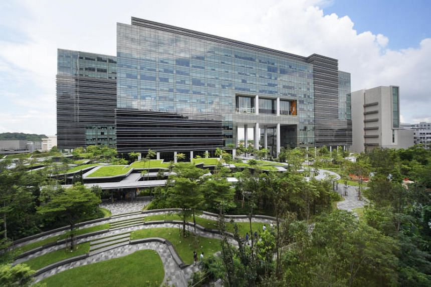 Linde Group's Asia Pacific Digitalisation Hub is located in the company's Asia-Pacific headquarters in Mapletree Business City (above).