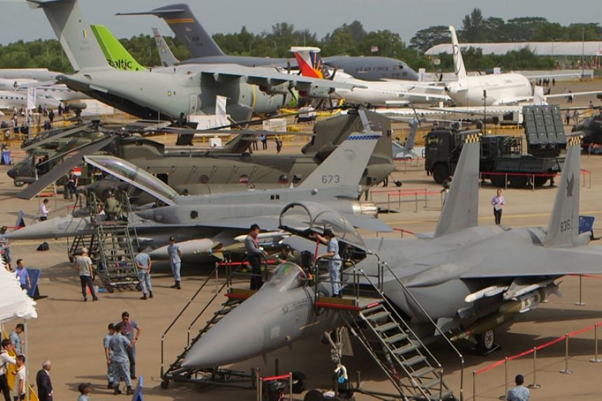 More than 170 US companies are exhibiting at the Singapore Airshow 2018, making up almost 30 per cent of the show floor.