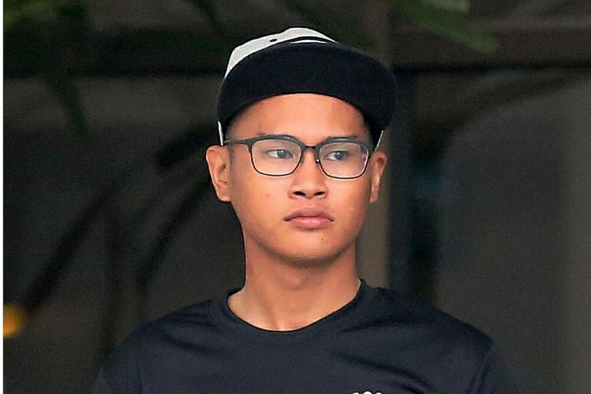 Khairul Hairuman was riding a bicycle without working brakes when he ran a red light and hit an elderly pedestrian.