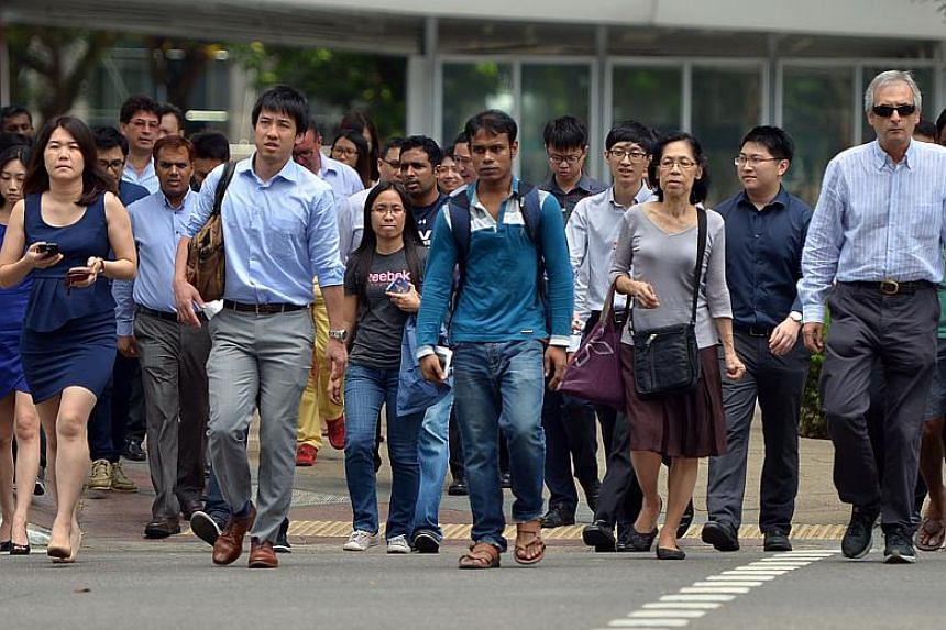The annual average unemployment rate for 2017 for Singaporeans was 3.3 per cent, higher than the average of 3.1 per cent in 2016.