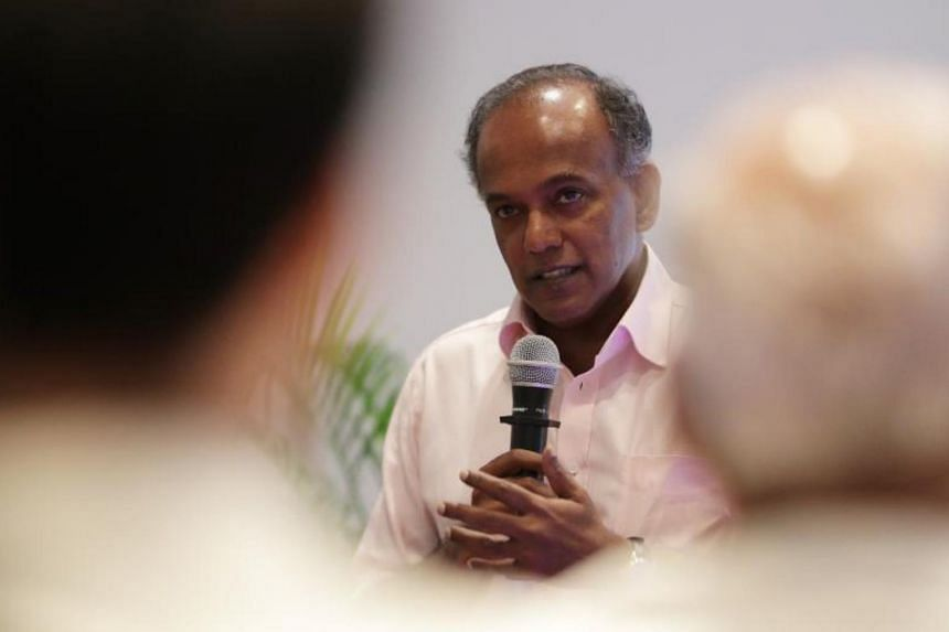In a Facebook post, Mr Shanmugam said he had a good exchange with Aljunied GRC MP Pritam Singh and Non-Constituency MP Dennis Tan over their points, but took issue with Ms Sylvia Lim's.